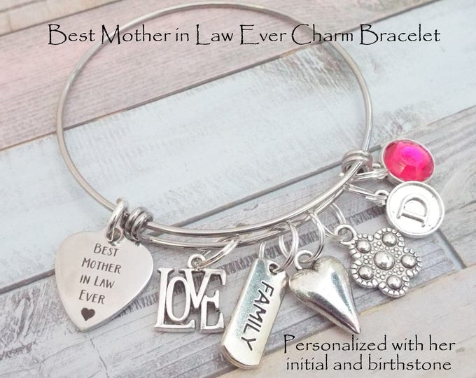 Gift Mother in Law, Mother in Law Birthday Gift, Personalized Jewelry Gift for Mom, Mother in Law Gift, Custom Jewelry for Mother