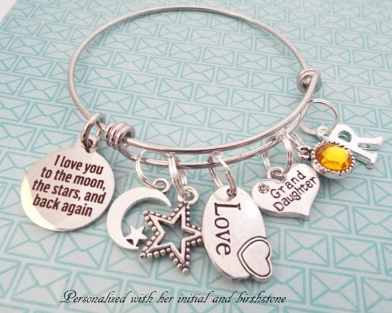 Granddaughter Charm Gift for Special Granddaughter Can be Personalised!