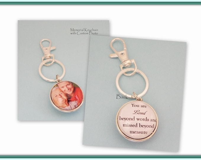 Memorial Gift, Grief and Mourning Keychain, In Memory, Sympathy Gift, Loss of Mom, Loss of Dad, Personalized Gift, Unisex, Loved One Death