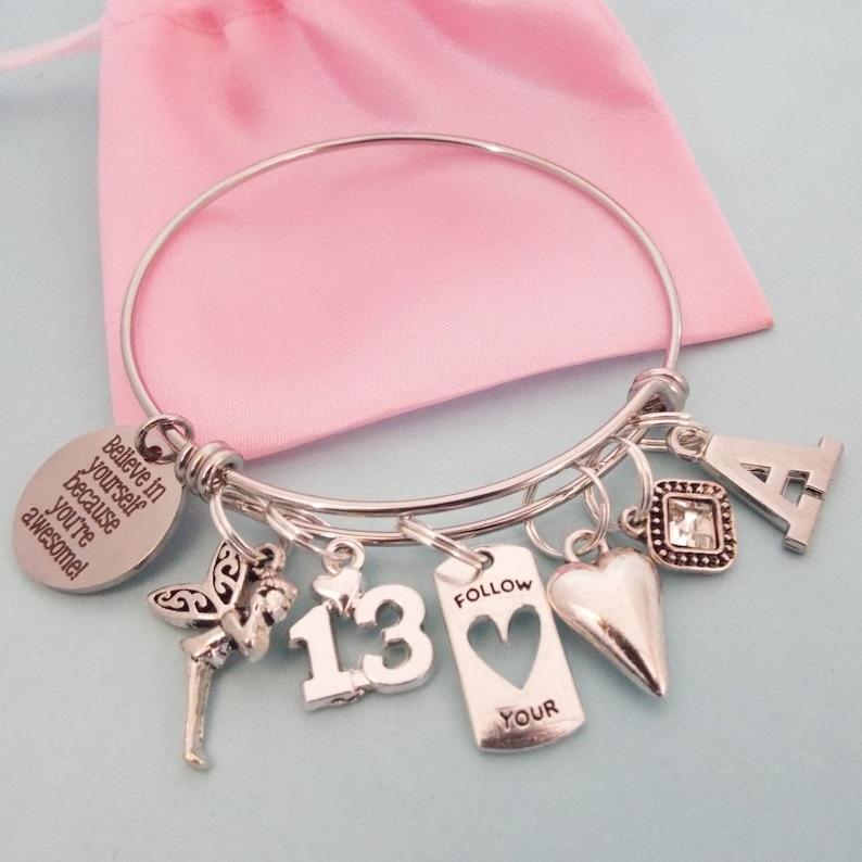 13. Geburtstag Mädchen Charm Armband Mädchen 13 Geburtstag