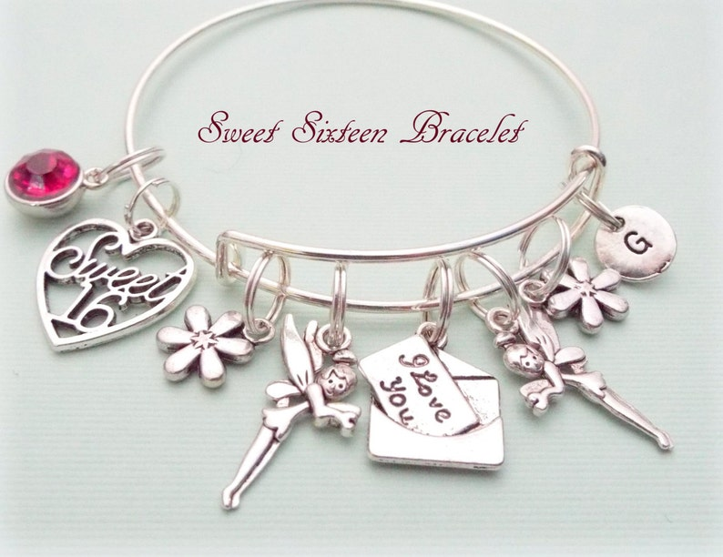 Sweet 16 Gift Charm Bracelet Ideas For Her