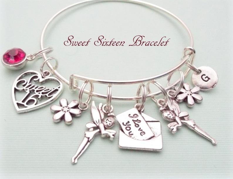 Sweet 16 Gift Sweet 16 Charm Bracelet Gift Ideas For Her Etsy