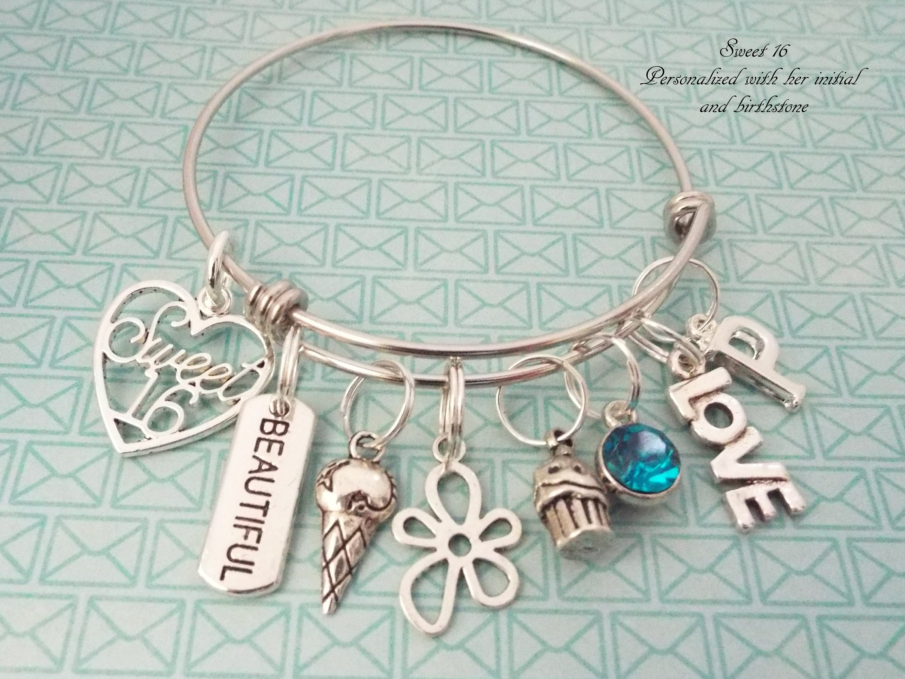 Sweet 16 Gift 16th Birthday For Girl Gifts Her Personalized Jewelry Daughter