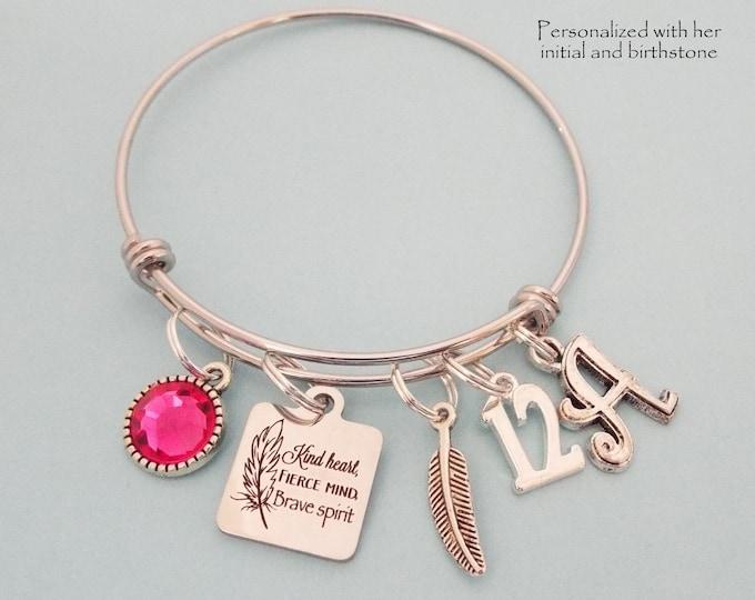Girl 12th Birthday Gift, Daughter Birthday, Girl Turning 12 Gift, Personalized Gift, Custom Jewelry, Gift for Her, Birthstone Jewelry, Niece