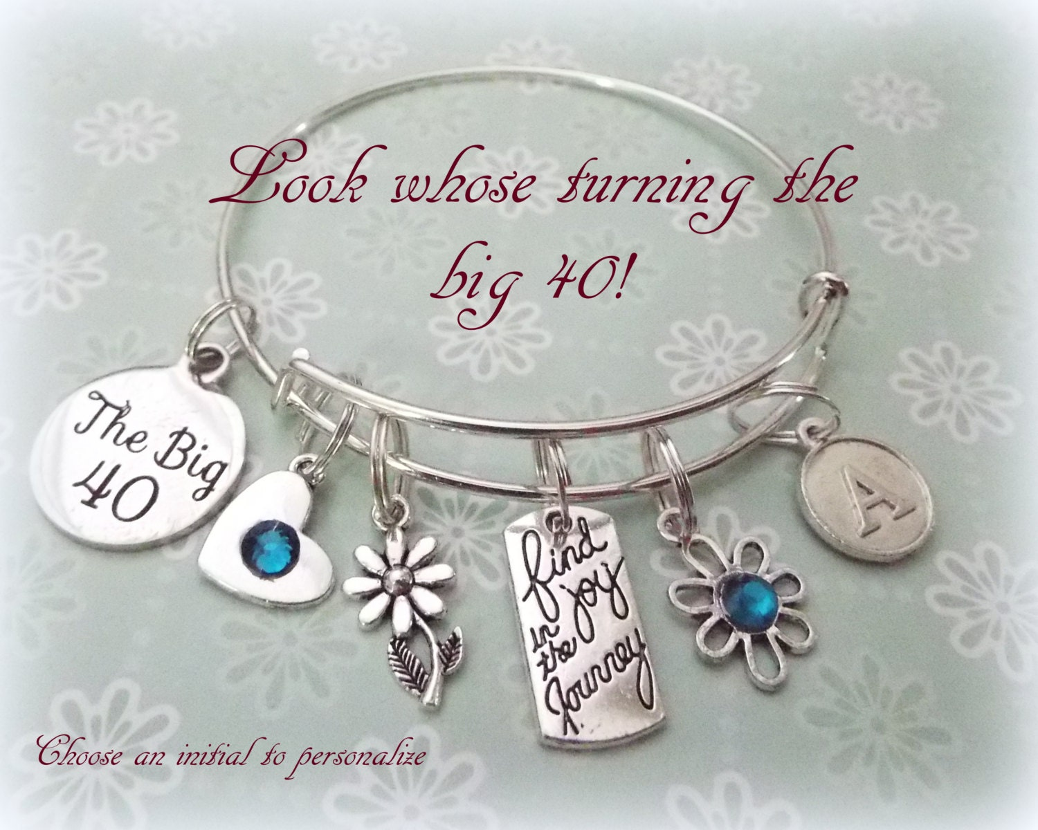 40th Birthday Gift For Friend Bracelet Gallery Photo