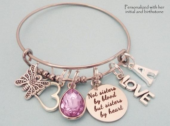 60th Birthday Purple and Lilac Charm Bracelet with Complimentary Gift Box /& Card