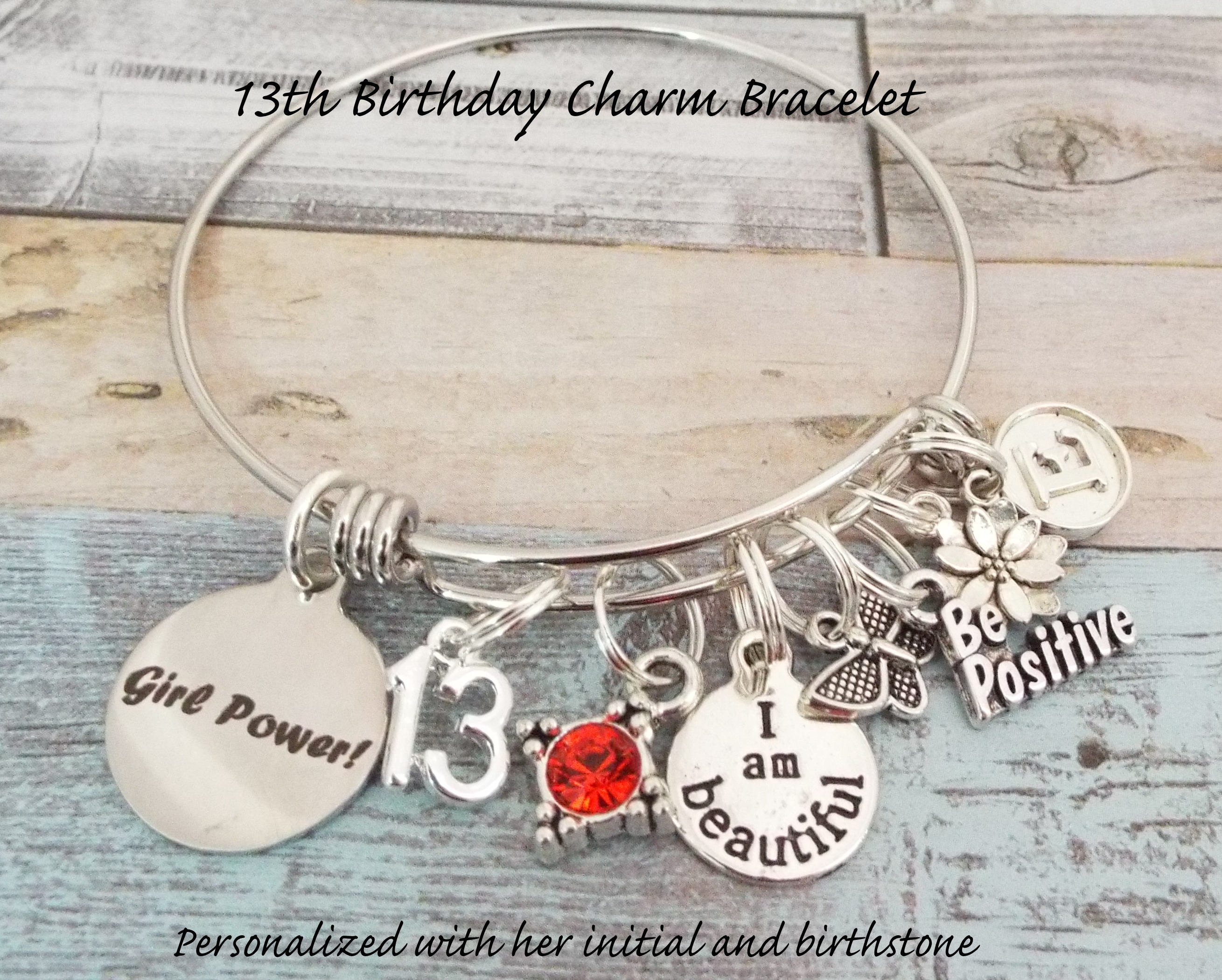 Gift For 13 Year Old Girl 13th Birthday Daughter Personalized Granddaughter