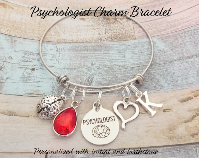 Gift for Psychologist, Psychologist Gift, Personalized Gift, Custom Jewelry, Jewelry for Her, Gift for Her, Women's Jewelry, Women's Custom