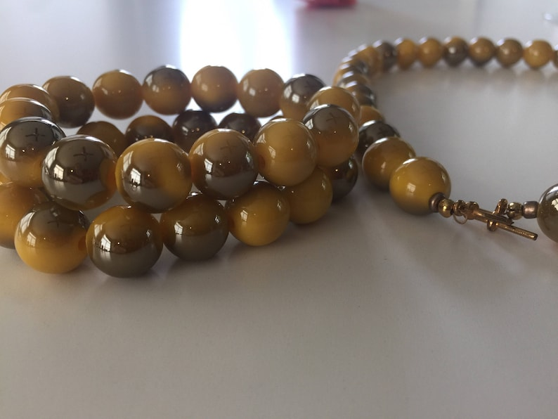 Yellow Necklace and 2 Bracelets
