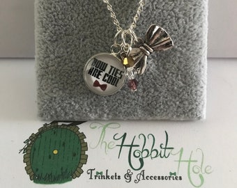 Handmade Doctor Who Inspired Necklace