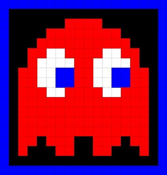 promo code 66455 6606f Ghost Pixel Pillow Cover