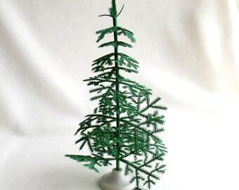 11 mini christmas tree soviet vintage miniature tree christmas vintage 60s - Miniature Christmas Tree