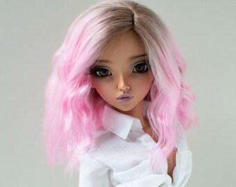 "7"" Alpaca Wig, 18cm wig, Bjd wig, minifee wig, BJD, MSD, MNF, minifee"
