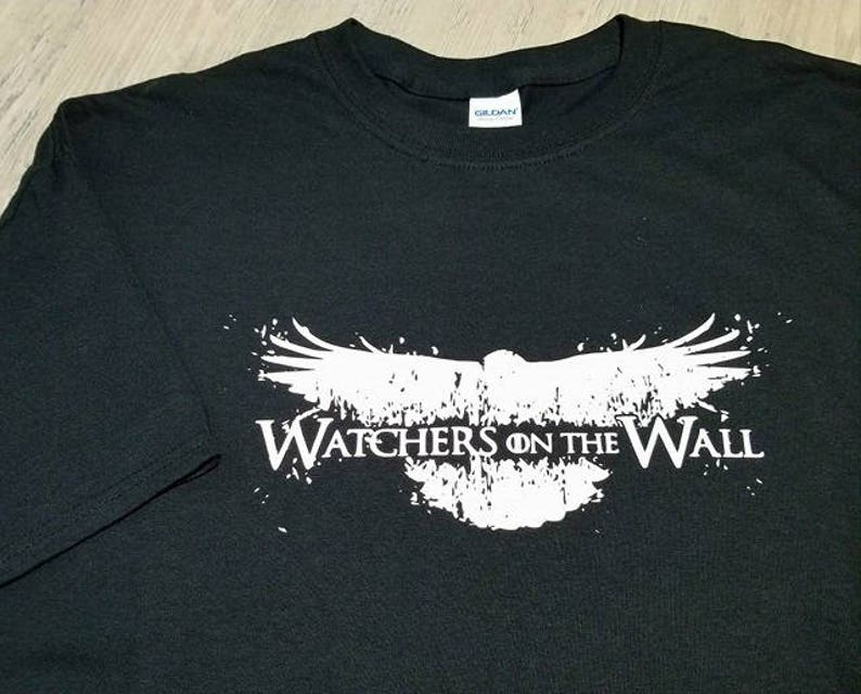 Game Of Thrones T shirt  Watchers On The Wall  Game Of image 0