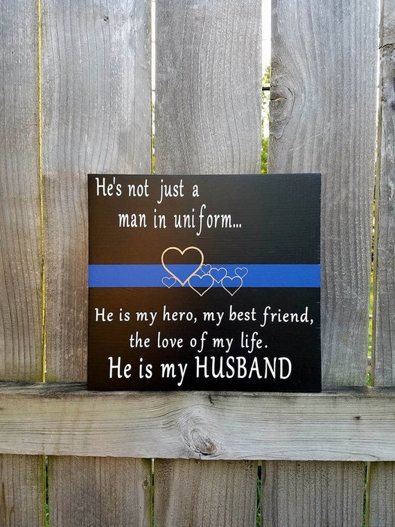 how to support your police officer husband