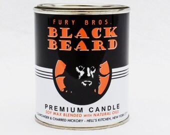 Black Beard Premium Soy Candle