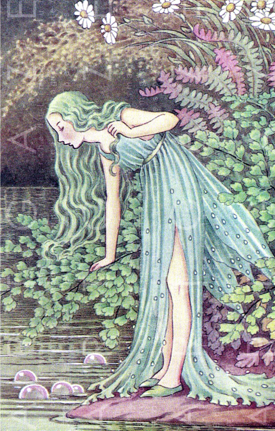DAZZLING Water Nymph Fairy. Digital Fairy Download. Water ... - photo#17