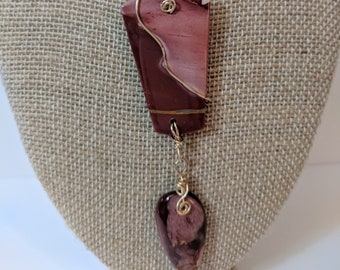 Australian Mookaite necklace