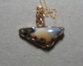 Rejoice in a sunny day with clear blue skies.  This Maligano Jasper is Nature's canvas.