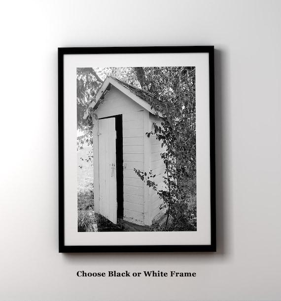 Bathroom Wall Art Farmhouse Decor Black and White Bathroom | Etsy