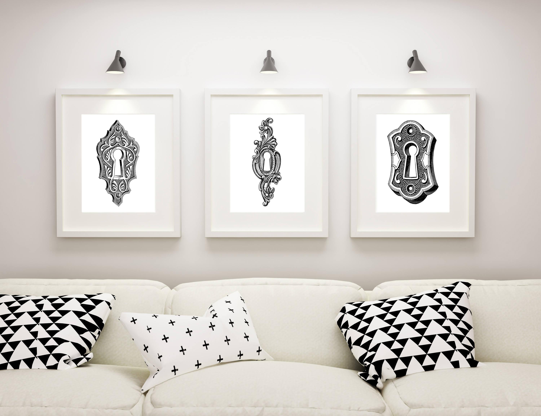 Living Room Wall Art, Master Bedroom Decor, Steampunk Artwork ...