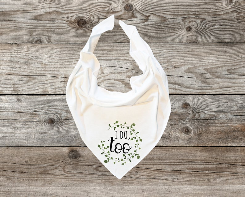 Baby of the Bride with flowers for Wedding Baby Bandana Bib