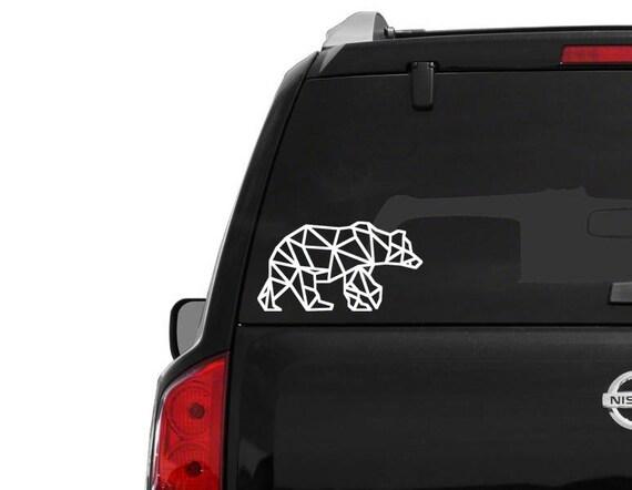 Geometrische b r aufkleber auto fenster aufkleber schnelle for Fenster schnelle lieferung
