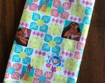 1/2 yd Moana Flannel Fabric