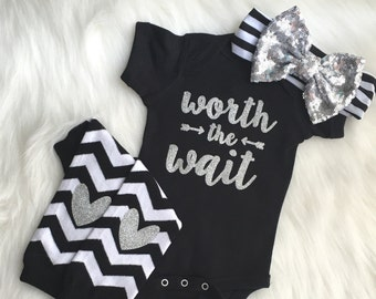 newborn girl, coming home outfit, baby girl, newborn headband, coming home from the hospital