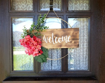 Welcome Sign For Front Door | Etsy