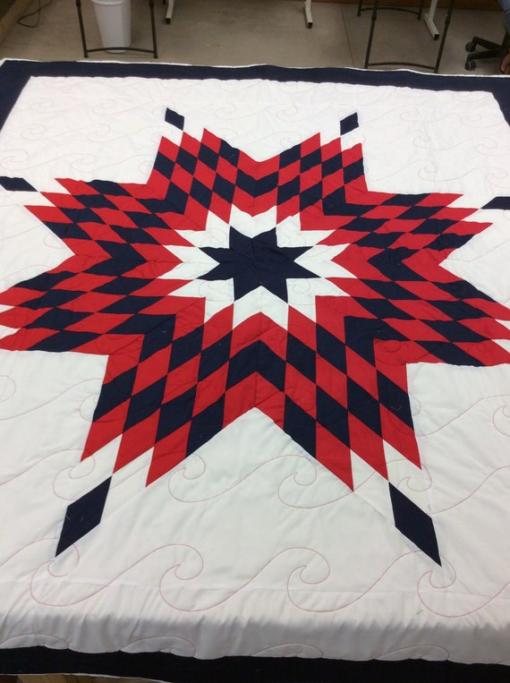 Native American Star Quilt Etsy