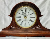 Cherrywood Mantle Chime Clock, Smith Ives Ltd.