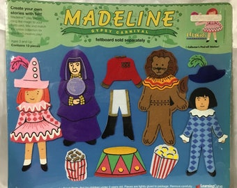 Madeline Gypsy Carnival Felt Collectibles Learning Curve.