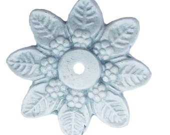 Antique Solid Metal Star Decorative Back Plate (8 COLORS) for ANY Drawer or Door Knob or Pull - BP4
