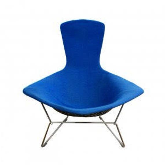 image 0  sc 1 st  Etsy & Knoll Bird chair designed by Harry Bertoia in royal blue | Etsy