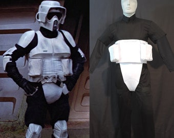 Star Wars - Biker Scout Trooper- Complete Soft Parts - Costume Prop Armor Cosplay