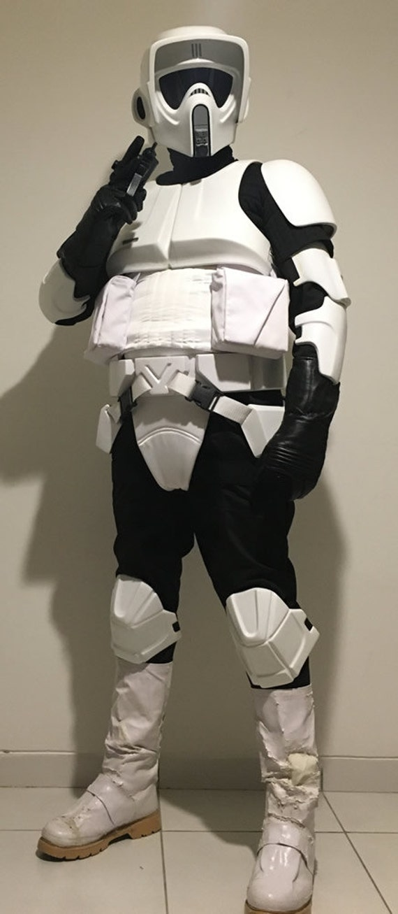 Cosplay Trooper Suit Costume Jump Prop Replica Wars Flight Armor Biker Scout Star q67FPO