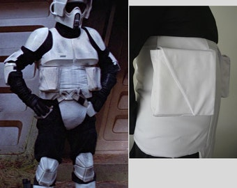 Star Wars - Biker Scout Trooper- Utility Pouches Replica  2pcs- Costume Prop Armor Cosplay