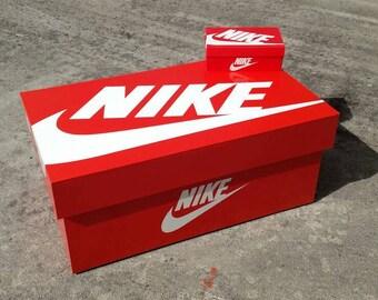Escéptico paleta Con  Giant shoe box | Etsy