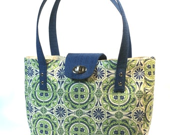 Tote Handbag PDF Sewing Pattern