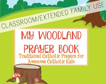 My Woodland Prayer Book CLASSROOM/EXTENDED FAMILY use *digital download*