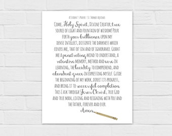graphic regarding Litany of Humility Printable named Litany of Humility electronic down load Etsy