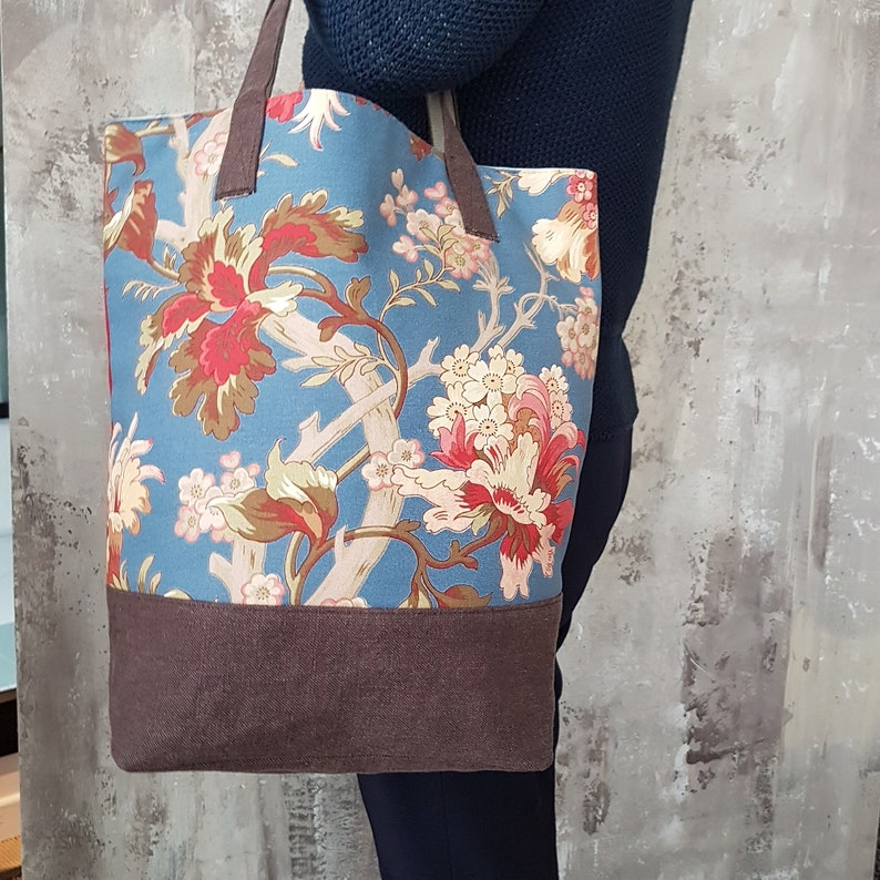 Tote bag made from sold-out collections  Handmade in Italy  image 0