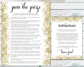 pass the prize bridal shower game pass the parcel rhyme printable gold confetti bridal shower game pass the centerpiece gold glitter