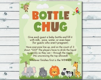co ed baby shower games