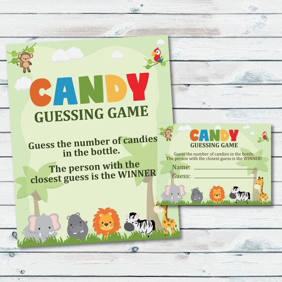 photograph about Guess Who Game Printable identified as Wager The Selection Of Candies Within just The Bottle, Sweet Guessing Match Printable, Safari Sweet Guessing Activity, Depend The Candies, Sweet Jar Wager