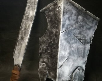 Uruk Hai Sword and Shield