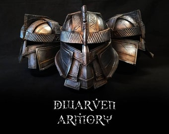 Dwarf Warrior Cosplay Helm
