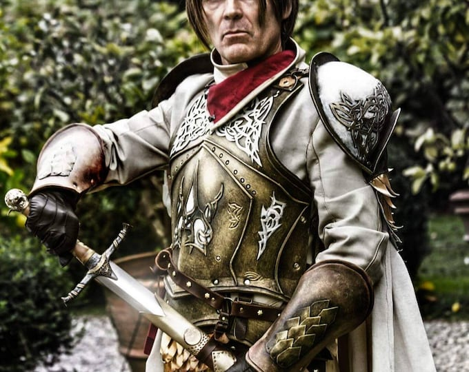 Jaime Lannister cosplay armor White Cloak version from Game of Thrones