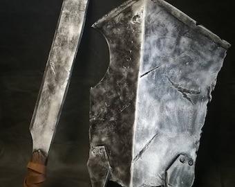 Uruk Hai Sword and Shield